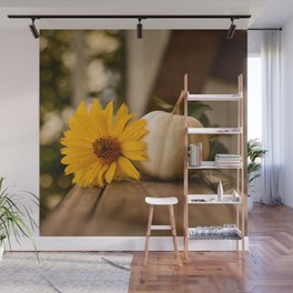 Autumnal Table Wall Mural