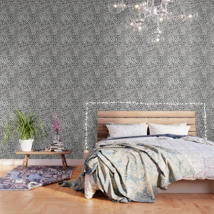 Gold And Black Animal Print Wallpaper By Matise