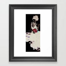 Encre (Ink) Framed Art Print