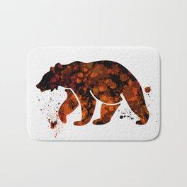 Bear 008 Bath Mat