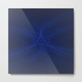 Star of the Blue Sea Metal Print