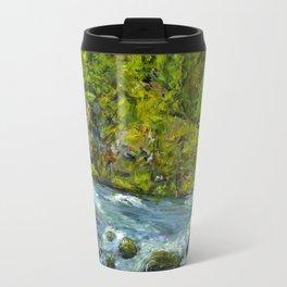 South Umpqua River, Oregon Travel Mug