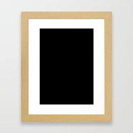 Better than nothing Framed Art Print