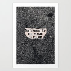 magic of color Art Print