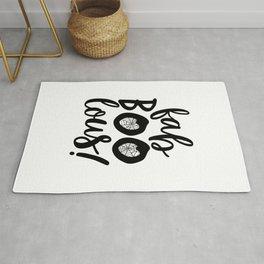 Fab Boo Lous! Halloween Quote Art  Rug