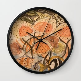 Colorpaint Sea Life Wall Clock