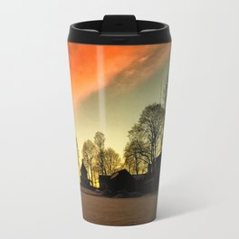 Dramatic Sunset Travel Mug