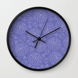 Terrariums Pattern Wall Clock