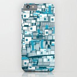 Turquoise iPhone Case