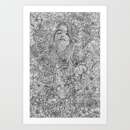 there's no such thing as Meaning of life Art Print