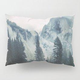 Cross Mountains Pillow Sham
