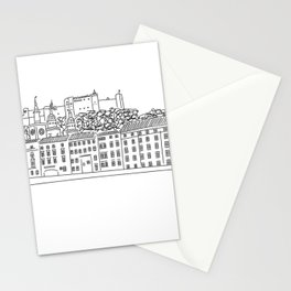 Salzburg, Austria Stationery Cards