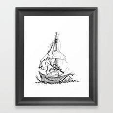 Melo the Explorer, Oct '15 Framed Art Print