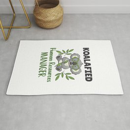 Koalafied Human Resources Manager Rug