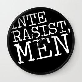 rasist Wall Clock