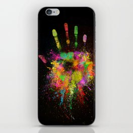 Artist Hand (1) iPhone Skin