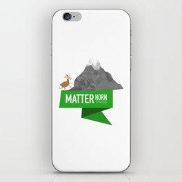 Matterhorn | Swiss Creation iPhone Skin