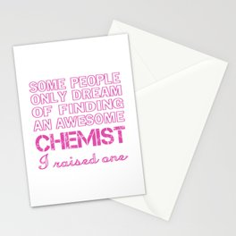CHEMIST'S MOM Stationery Cards