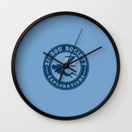 Deep sea explorations Wall Clock