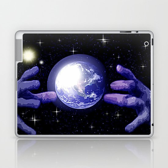 In good hands. Laptop & iPad Skin