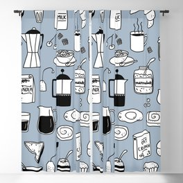 Breakfast Things Blackout Curtain