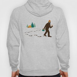 A Hairy Camp Robber Hoody
