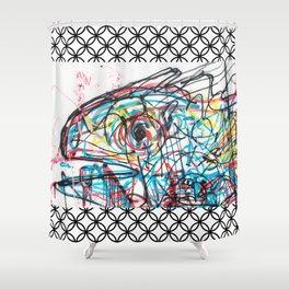 Eye 2 colour Shower Curtain