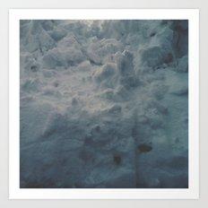 Snow Wall Art Print