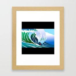 Big Surfer Framed Art Print