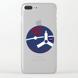 Juno Mission Logo Clear iPhone Case