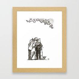 Detective & The Doctor: Beekeeping Framed Art Print
