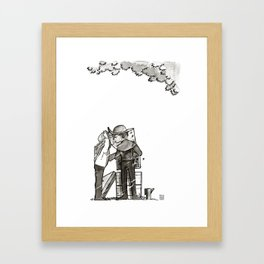 Detective & The Doctor: Beekeeping Framed Art Print