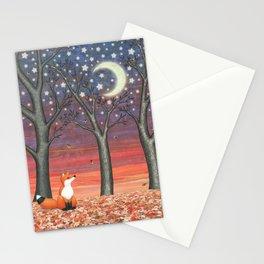 fox & fireflies Stationery Cards