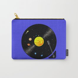 Solar System Vinyl Record Carry-All Pouch