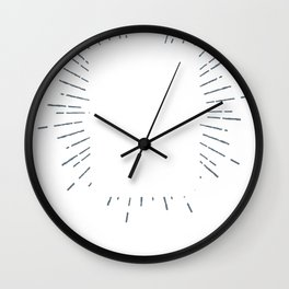 Lumberjack Flask Stop Thinking Start Drinking Copy Wall Clock
