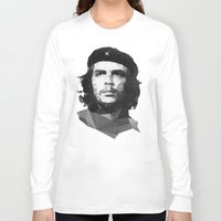 che Long Sleeve T-shirts featuring Che by Poly Iconik Art