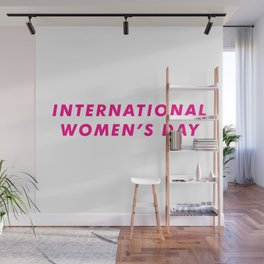 International Women's Day Aesthetic Wall Mural