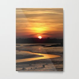 Alresford Creek Sunset Metal Print