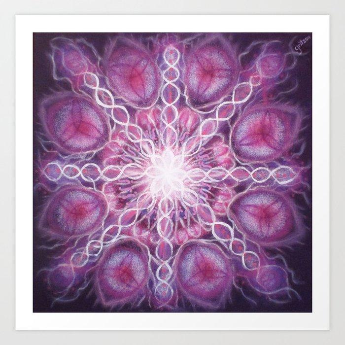 Violet / Violett Art Print