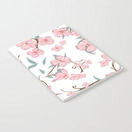 Creepy Flowers Pattern Notebook