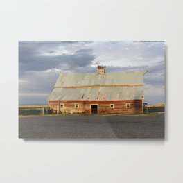 Big Sky Summer Storm Metal Print