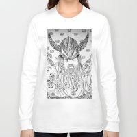 viking Long Sleeve T-shirts featuring Viking by Infra_milk