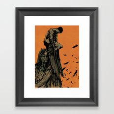 Catch Those That Fall At My Feet Framed Art Print