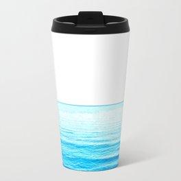 Blue Ocean Illustration Travel Mug