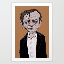 Mark E. Smith - The Fall Art Print