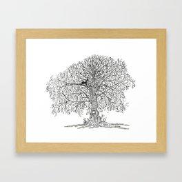 Koko's tree Framed Art Print