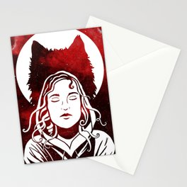 Scarlet and the Wolf Stationery Cards