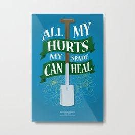 All My Hurts Metal Print