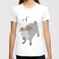 aries T-shirts featuring Aries by Rejdzy