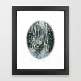 Behind You 81 Framed Art Print